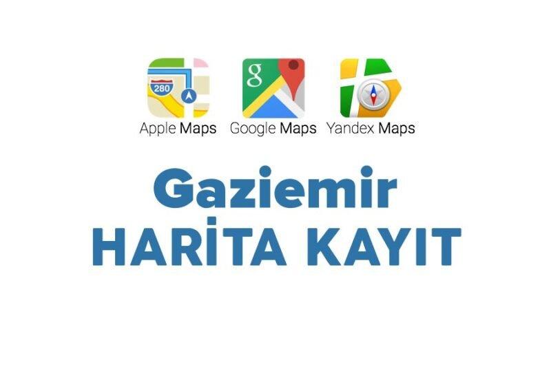 gaziemir harita kayıt