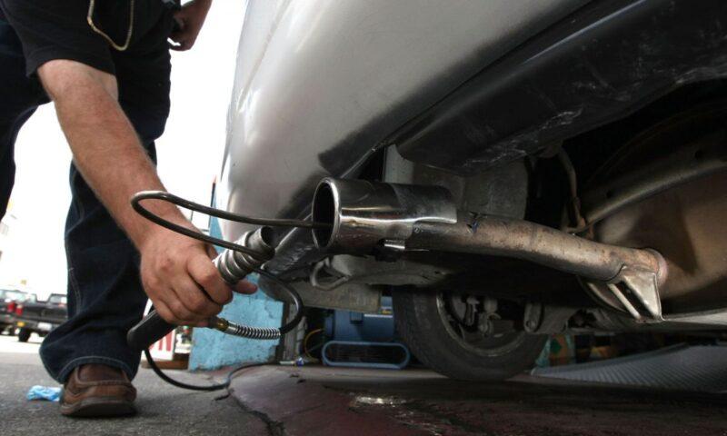 izmir gaziemir egzoz emisyon