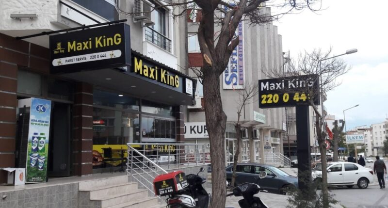 gaziemir maxi king hamburger