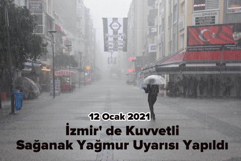 izmir yağmur
