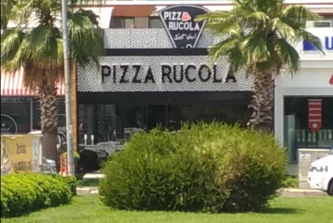 pizza rucola gaziemir