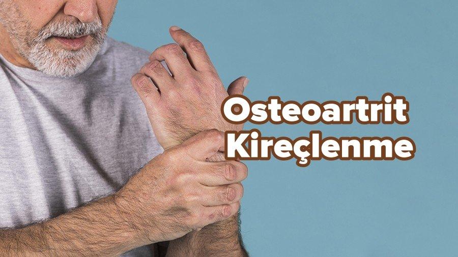 osteoartrit kireçlenme